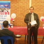 RUAP SA Lead Senate Candidate Jeff Flint addresses gathering