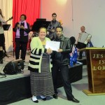 Receiving baptism certificate (3)