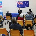RUAP NP Daniel Nalliah speaking at Seaford meeting