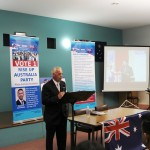 RUAP National Executive Member Ben  Vietz speaking at Bendigo Campaign Meeting