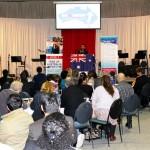 RUAP President & 1 Senate Candidate Daniel Nalliah addresses RUAP Campaign meeting in Hallam