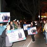 RUAP Campaign outside in Richmond