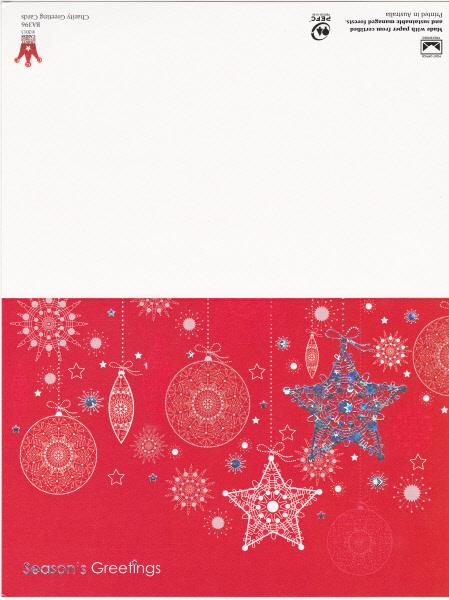Seasons Greetings Card from Dandenong Council