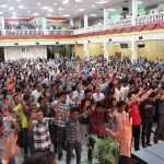 Altar call for salvation