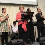 Pr Jenny & part of CTFM worship team