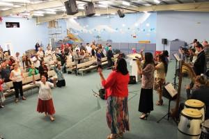 Worshiping King Jesus at new CTFM base (3)