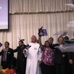 Pastors from many denominations unite to lead prayer meeting