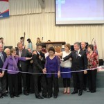 Pr Daniel, his wife Maryse & CTFM Board dedicate new centre to God