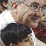 Project Rescue co-founder David Grant at a safe house for children affected by slavery. (Project Rescue)