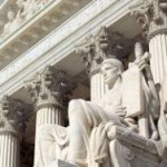 Unanimously, the nine U.S. Supreme Court justices agreed that one person shouldn't have the power to create same-sex marriage in a state that democratically outlawed it.