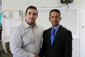 Former ADL Leader with Ps Daniel
