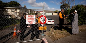 New Zealand mosque shut down after violent attacks and declaration of jihad against guards hired to protect premises