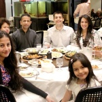 Special birthday dinner with family