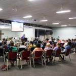 Speaking at COC church in Darwin
