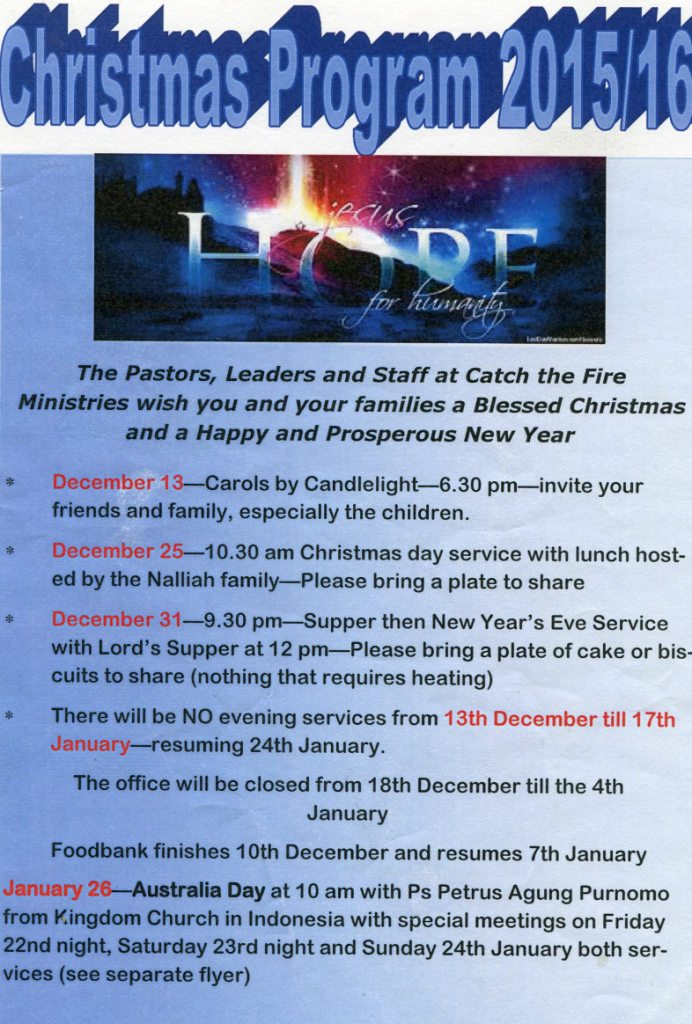 Christmas special 2015 missionary loop - 4 10