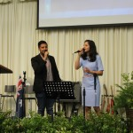 Ps Daniel's son Nigel & daughter Shannen special worship item