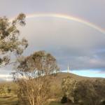 Rainbow promise of God