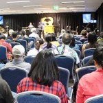 Ps Daniel preaching in Sydney