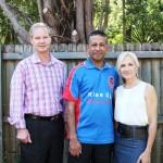 RUAP National President Daniel Nalliah with NSW #1 & #2 Senate Candidates