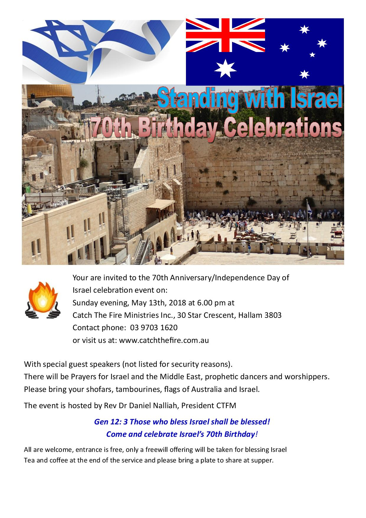 Israel at 70 flier on 13th May Sunday a-page-001