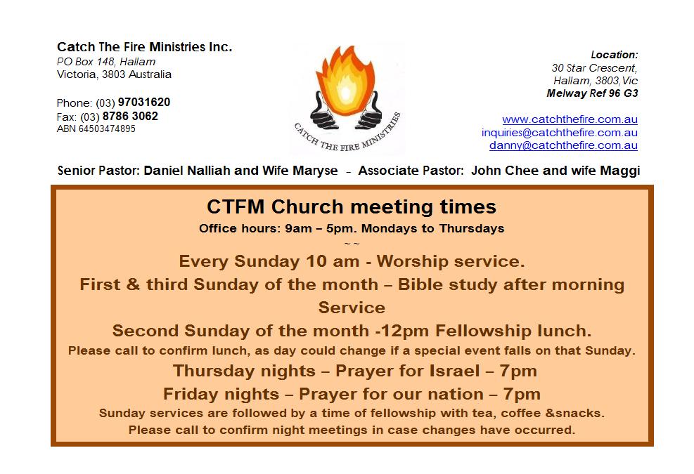 CTFM Notice